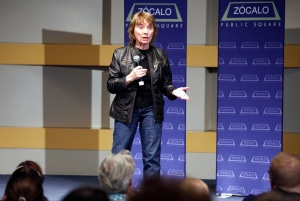 Camille Paglia at the Skirball Cultural Center in Los Angeles. Photo / Zócalo Public Square